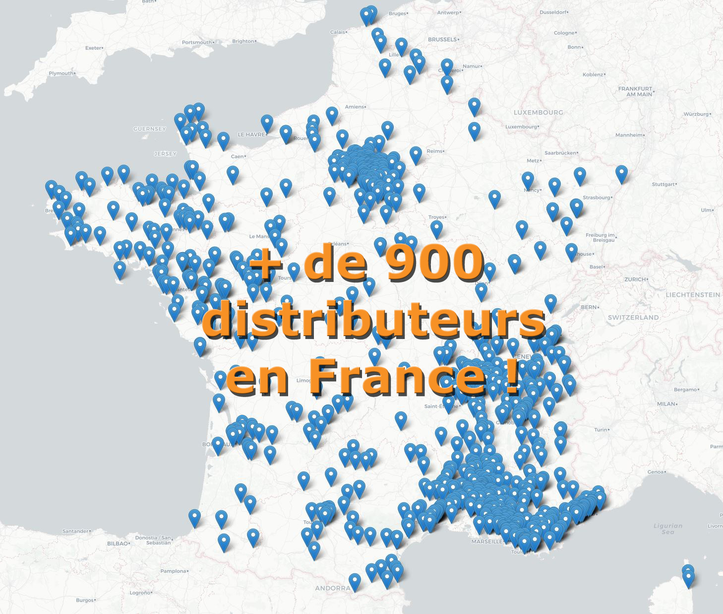 distributeurs Isoltop