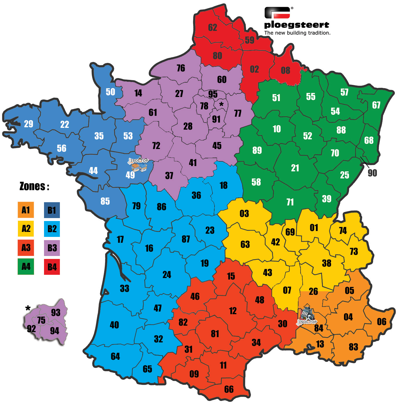 carte organisation Isoltop